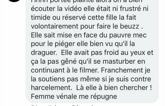 Commentaire reçu par Safiétou après la publication de sa vidéo (1)