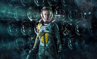 Dans « Returnal » sur PS5, le joueur et joueuse incarne une astronaute piégée dans une boucle temporelle sur une planète dangereuse