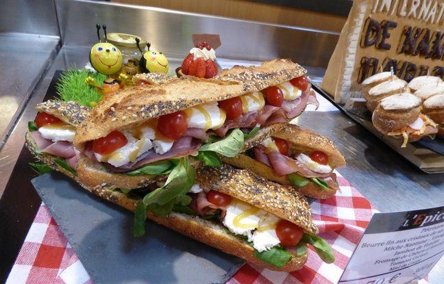 Ce sandwich a remporté la première place du concours
