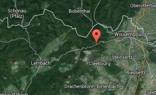 Le col du Pigeonnier, entre Lembach et Wissembourg