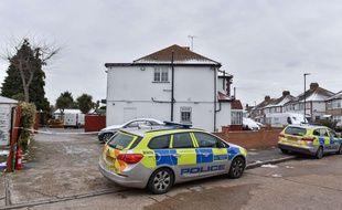 Une voiture de police britannique (Illustration).