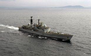 Le HMS Gloucester, navire de la marine britannique (image d'illustration).
