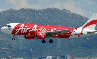 Un Airbus d'AirAsia en 2011.