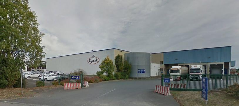 L'usine Tipiak de Saint-Aignan-de-Grandlieu, près de Nantes.