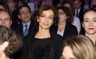 La ministre de la Culture Audrey Azoulay aux Victoires de la musique, le 12 février 2016.