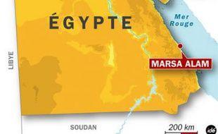 Une Française tuée par un requin en Mer Rouge, en Egypte, le 1 juin 2009