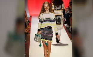 Lors de la Fashion Week de New York, le défilé de mode printemps-été 2017 de Desigual s'est inspiré des filtres Snapchat.