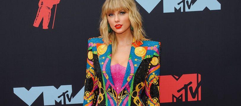 La chanteuse Taylor Swift aux MTV Video Music Awards