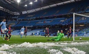 Paris a concédé l'ouverture du score sur la toute première occase de City.