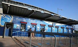 Le stade de l'Estac à Troyes