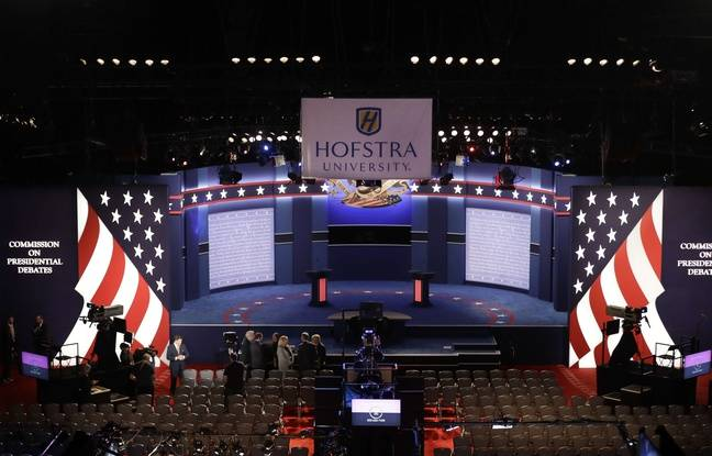 Le premier débat télévisé entre Donald Trump et Hillary Clinton se déroule à l'université Hofstra, à New York.