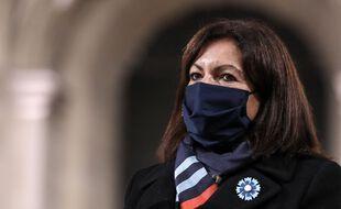 Anne Hidalgo, maire de Paris, le 11 novembre 2020.