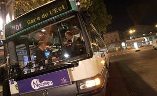Un bus Noctilien. (Illustration)