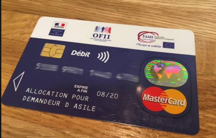 carte bancaire pour demandeur d asile Carte bleue pour demandeurs d'asile: Le vrai du faux des réseaux