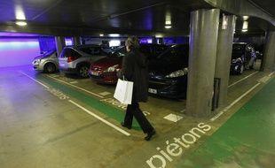 Un parking souterrain (photo d'illustration).