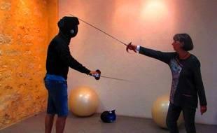 Le maniement du sabre permet au corps de s'étirer.