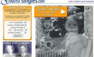 Le site Ghostsingles.com, le site de rencontres pour les fantômes.