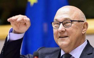 Le ministre des Finances français, Michel Sapin, le 7 mai 2015 à Bruxelles