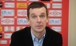 Nicolas Holveck, ici en 2013 alors qu'il était directeur général adjoint de l'AS Nancy Lorraine.