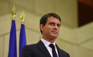 Le Premier ministre Manuel Valls en viste dans les Pays de la Loire