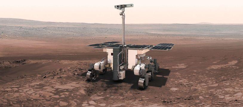 Le rover européen-russe ExoMars. La sonde InSight de la NASA a atterri sur Mars le lundi 26 novembre 2018.