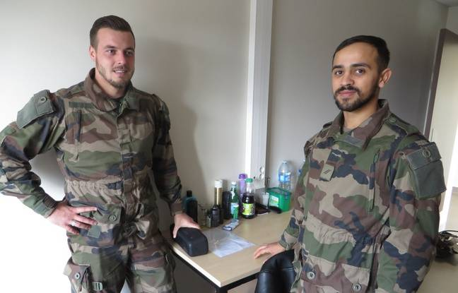 Les soldats de l'opération Sentinelle à Lyon partagent désormais une chambre double, plutôt que des dortoirs de 22 lits.