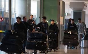 Les joueurs de Wuhan étaient partis en Espagne