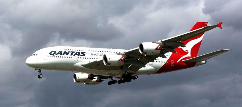 Un avion de la compagnie Qantas
