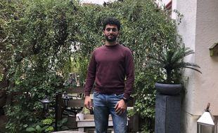 Carlos, 31 ans, Syrien, est arrivé en Allemagne en 2016.