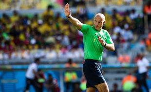 Howard Webb lors de Brésil-Chili le 28 juin 2014.