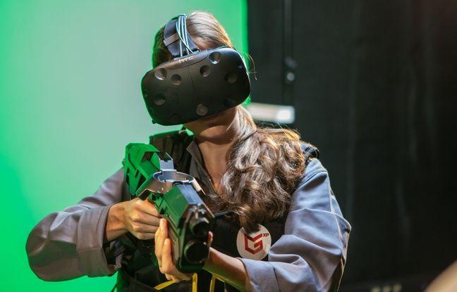 Le casque HTC Vive pour lutter contre les mutants.