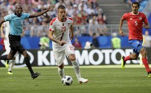 Le Serbe Milinkovic-Savic lors du match contre le Costa Rica.
