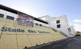 Le stade des Costières à Nîmes, le 18 novembre 2014