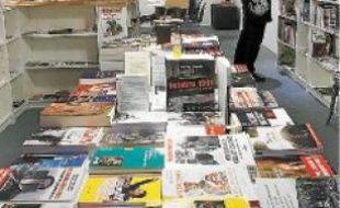 La ville compte 32 librairies, comme celle de l'Arbre, à la Plaine.