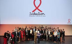 Sidaction, mars 2014.