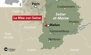 La ville du Mée-sur-Seine.