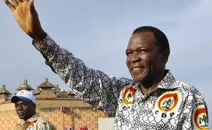 François Compaoré, le frère cadet de l'ex-président burkinabè Blaise Compaoré, à Ouagadougou en novembre 2012.