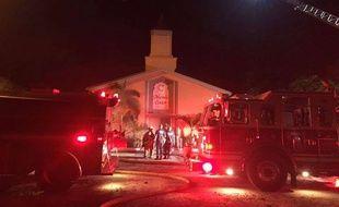 Le Centre islamique de Fort Pierce, en Floride, a été incendié dans la nuit du 11 au 12 septembre 2016.
