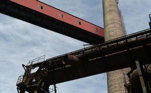 L'usine désaffectée de minerai de fer de Shougang Capital à Pékin. La production industrielle chinoise a ralenti bien plus fortement qu'attendu en avril