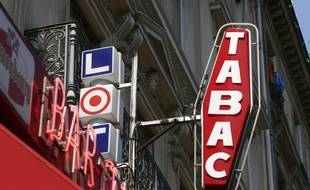Une enseigne de bar-tabac (Illustration)