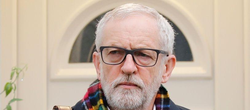 Jeremy Corbyn, le 17 décembre 2019 à Londres.