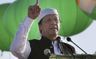 Le Premier ministre du Pakistan, Imran Khan, le 9 novembre 2019 à Kartarpur.