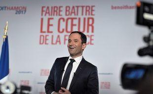 Benoît Hamon en meeting à Montreuil le 26 janvier 2017.
