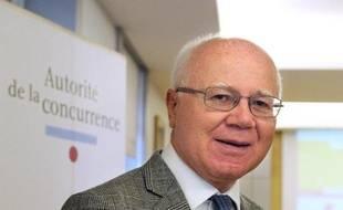L'ancien président de l'Autorité de la concurrence, Bruno Lasserre, le 10 juillet 2014 à Paris