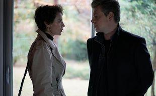 Jeanne Balibar et Benjamin Biolay dans «Capitaine Marleau» sur France 3.