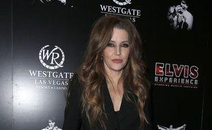 La fille du King, Lisa Marie Presley, à Las Vegas