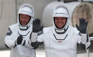 Doug Hurley et Bob Behnken, les deux astronautes à bord de la fusée Space X.