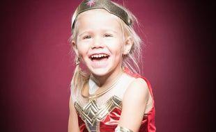 Une photo de Wonder Augustine, cette petite fille décédée à 4 ans après un cancer foudroyant. Une association est née et défend la création d'un fond spécifique pour la recherche sur les cancers pédiatriques.