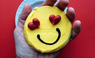 Un smiley amoureux