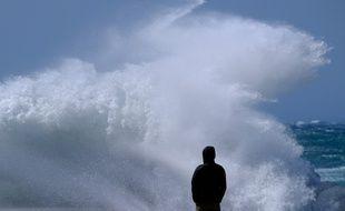 D'importantes rafales de vent ont soufflé à Marseille